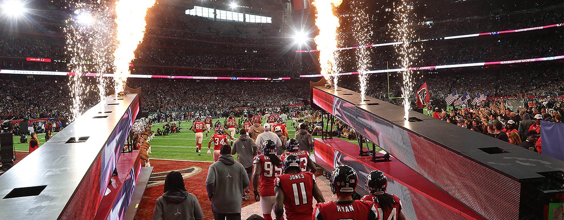 Super Bowl Reise