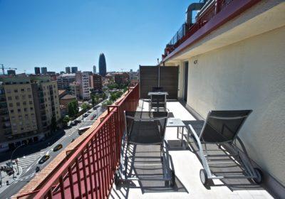 Catalonia Atenas_Hab Superior terrace